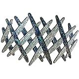 Mosaik Wandbild /'BUND DER EHE/'Glasbild Wanddeko aus Glas 85x61x2,5cm