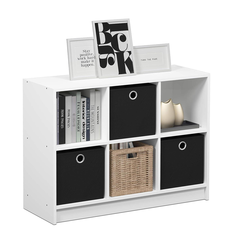 Furinno 99940AM//MBR Basic 3x2 Bookcase Storage Americano//Brown