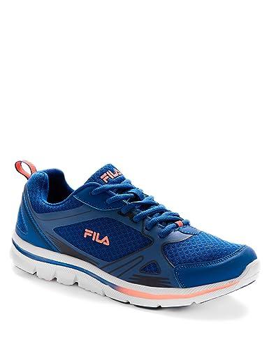 Fila Herren Sneaker Grau Grau, Blau - Light Royal Blue Deep Orange ...