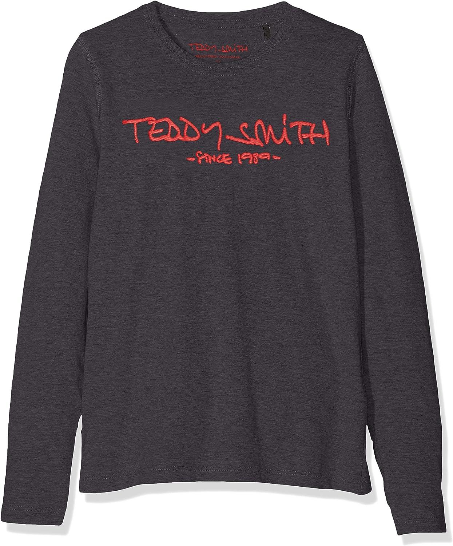 Imprim/é Gar/çon Col ras du cou Teddy Smith Ticlass3 Manches longues T-shirt