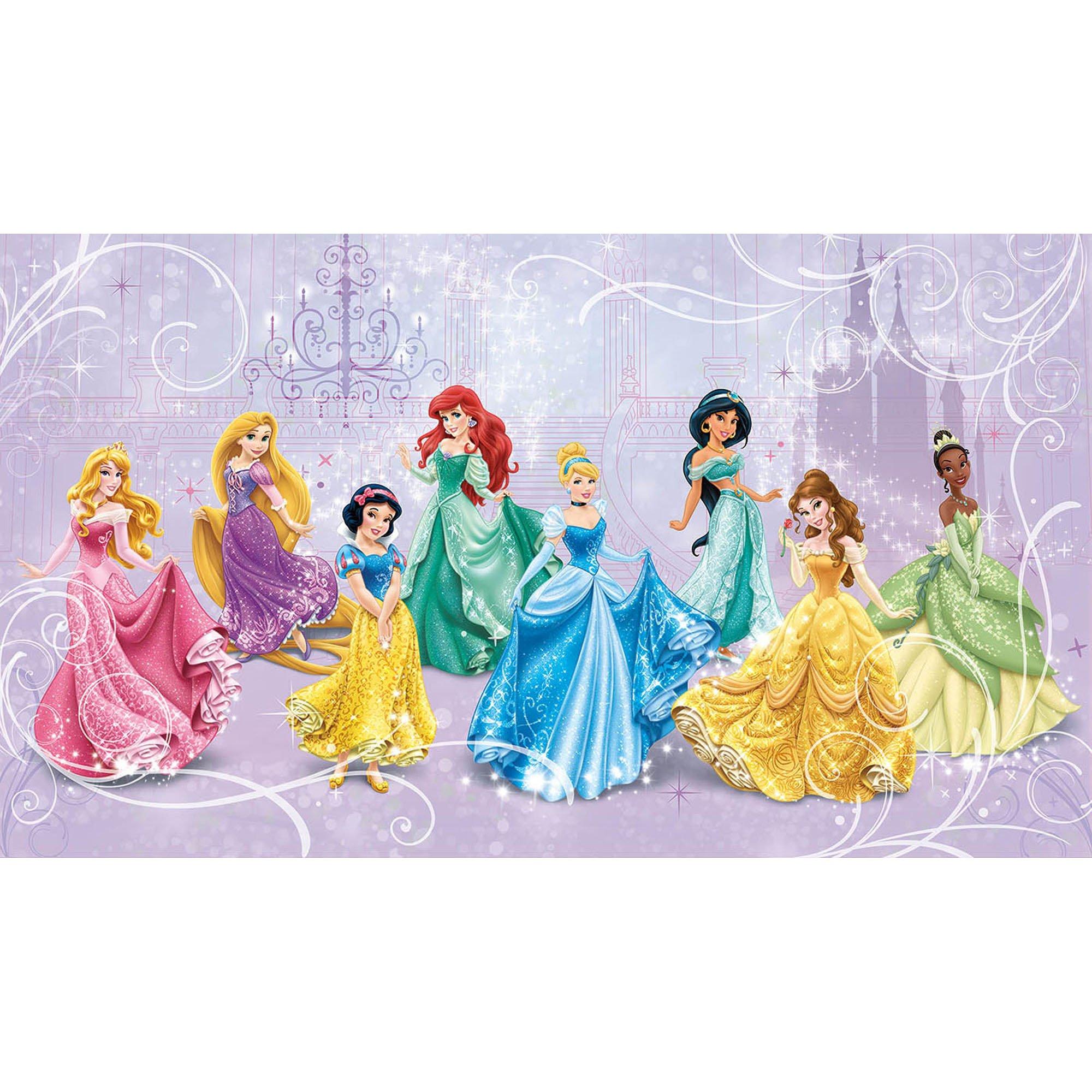 RoomMates Disney Princess Royal Debut Prepasted, Removable Wall Mural - 6' X 10.5' by RoomMates (Image #1)