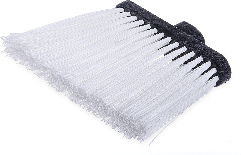 Carlisle 3686814 Duo-Sweep UnFlagged Angle Broom Head, 8