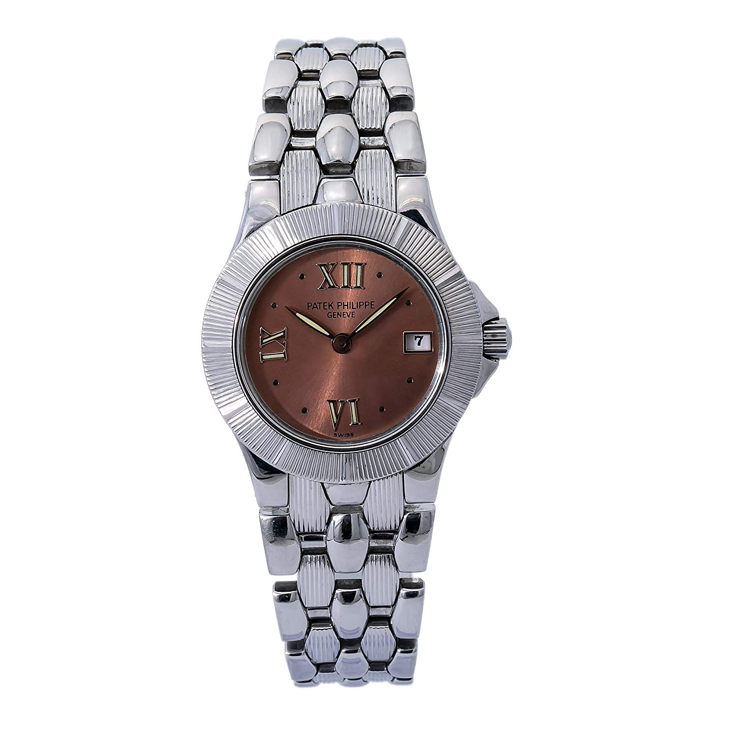 Image of Patek Philippe Neptune Quartz Female Watch 4880 (Certified Pre-Owned)