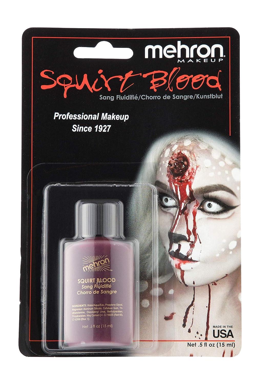 Mehron Makeup Squirt Blood (.5 oz) (BRIGHT ARTERIAL) 150
