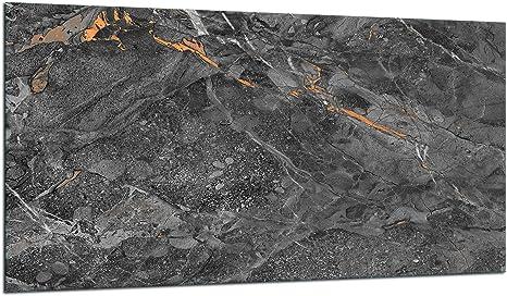 TMK Herdabdeckplatte 90x52 cm Glas Ceranfeldabdeckung Induktion Herdschutz Spritzschutz Glasplatte Deko Schneidebrett Holz