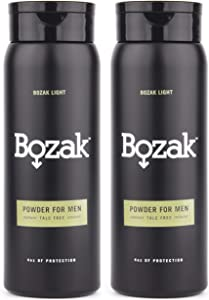 Giveaway: Bozak Light Body Powder for Men - 4 oz. Talc-Free