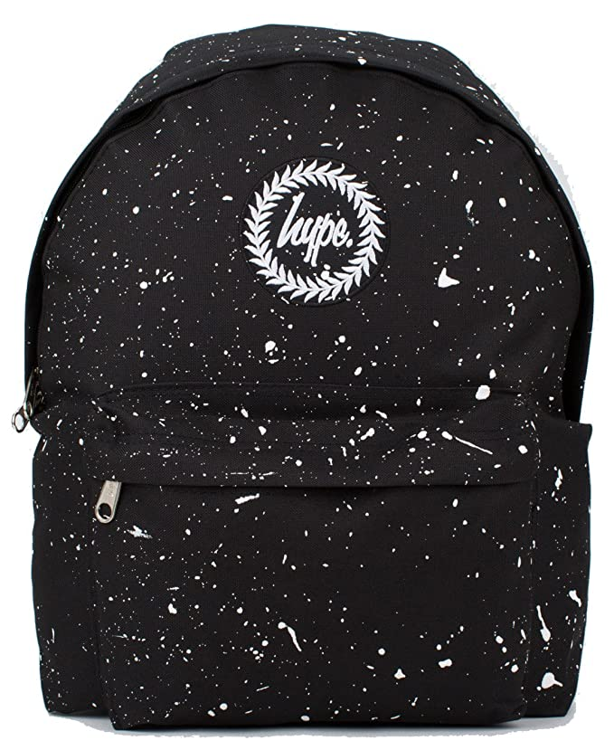 459c7a0d5ba1 Hype Backpack Rucksack Shoulder Bag - Black with White Speckle - for Boys  and Girls
