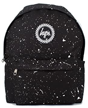 95f3f81c6a Hype Backpack Rucksack Shoulder Bag - Black with White Speckle - for Boys  and Girls