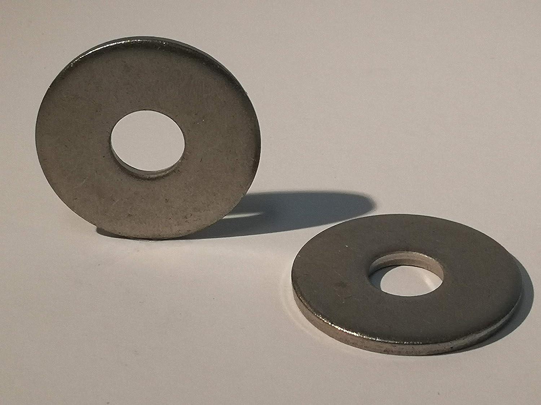 Acero inoxidable, M5 25 piezas arandelas acero inoxidable A4 DIN 440