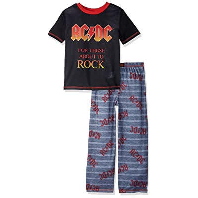 AC/DC Big Boys' ACDC 2 Piece Pajama Set