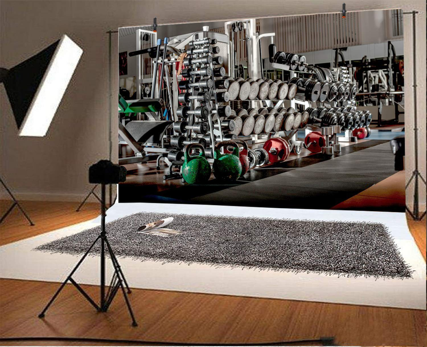 Amazon lfeey ft exercising gym backdrop physical fitness