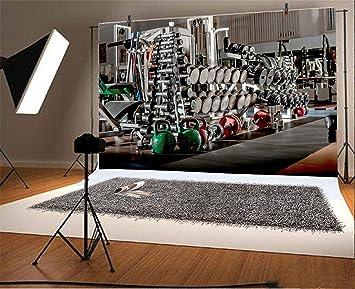 Amazon.com : leyiyi 10x8ft photography backdrop gymnasium background