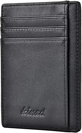 Mens Womens Black Leather Wallets Quality Multiple Pocket Holder Bags Press Stud