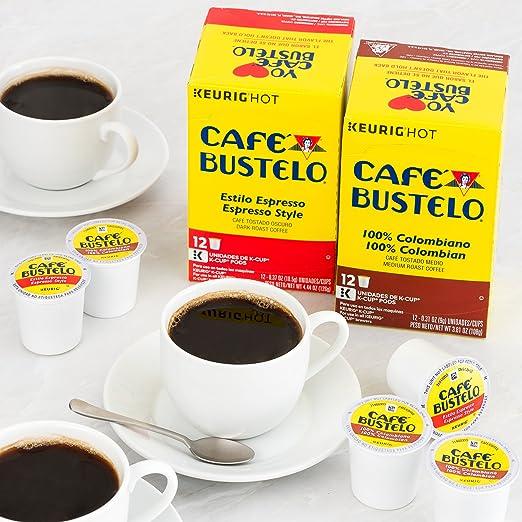 Cápsulas de café Bustelo estilo Espresso para ...