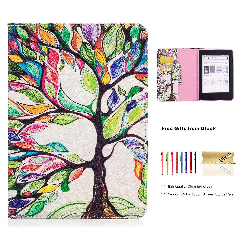 Dteck Kindle Tree Paperwhite ケース ウルトラスリム 軽量 PU
