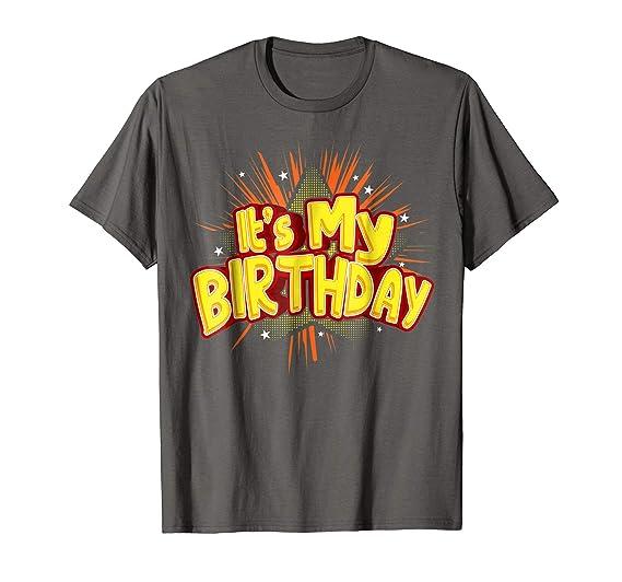 Mens Its My Birthday Shirt For Boys
