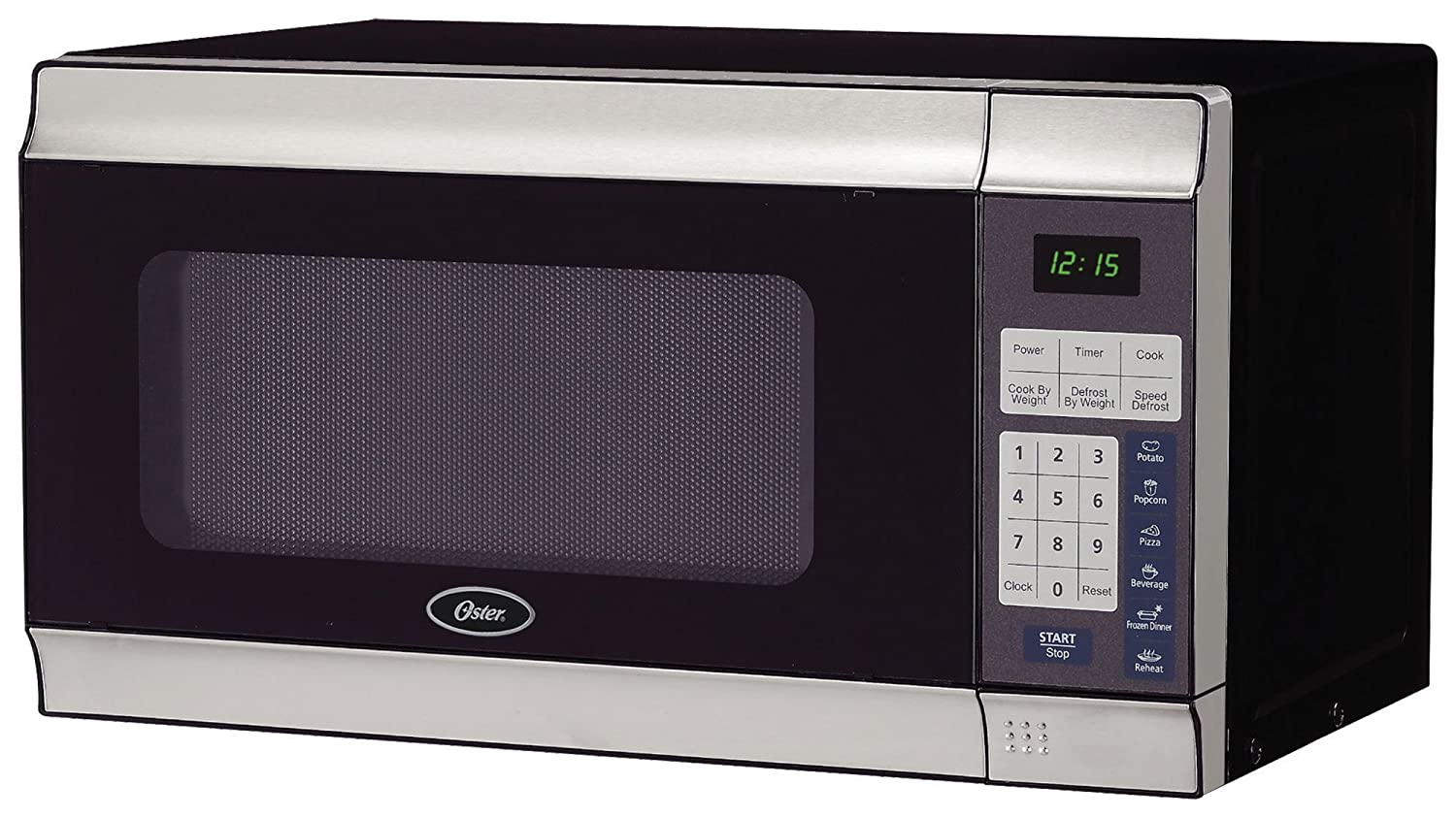 Amazon.com: Oster 0.7-Cubic Foot, 700-Watt Countertop Microwave ...