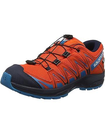 Salomon XA Pro 3D CSWP J, Calzado de Trail Running Impermeable para Niños