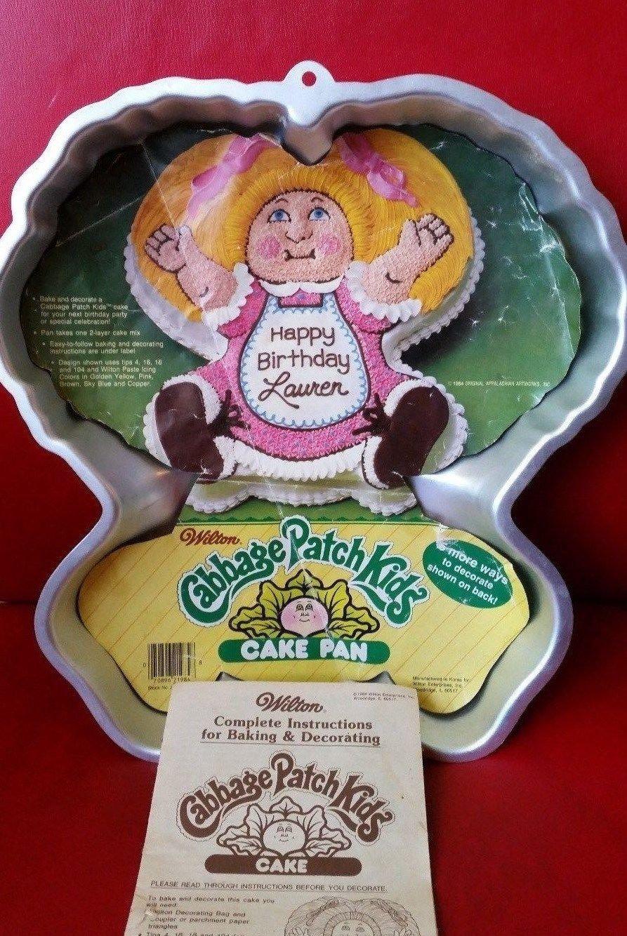 Wilton Cabbage Patch Doll Kids 1984 Cake Pan 2105-1984