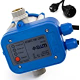 AWM Pumpen Druckschalter automatische Pumpensteuerung, verkabelt, Trockenlaufschutz, Rückschlagventil, maximale 10 bar, AM-102
