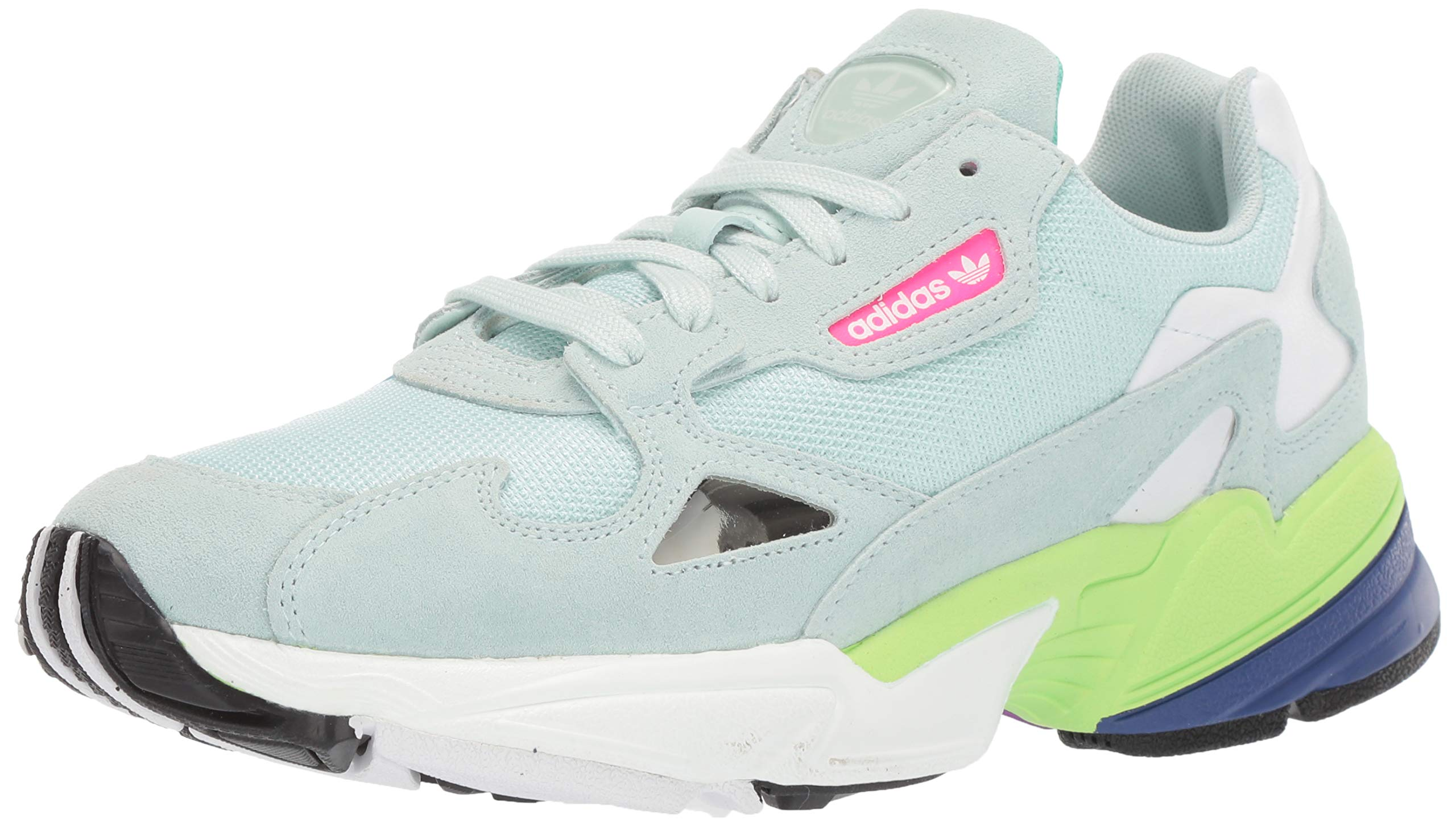 aea5216d Galleon - Adidas Originals Women's Falcon Running Shoe Ice Mint/Black, 9 M  US