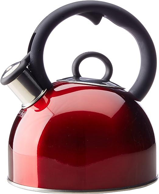 Amazon.com: Cuisinart Aura 2 cuartos Teakettle rojo: Kitchen ...