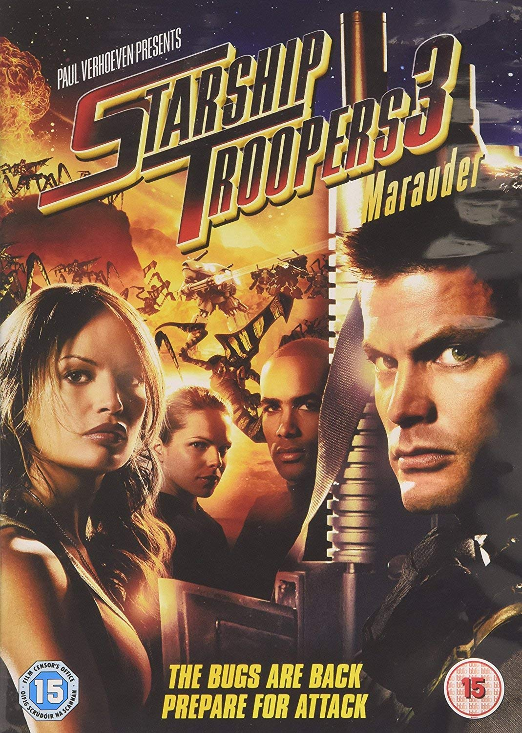 Amazon.com: Starship Troopers 3: Marauder [DVD] [2008]: Movies & TV