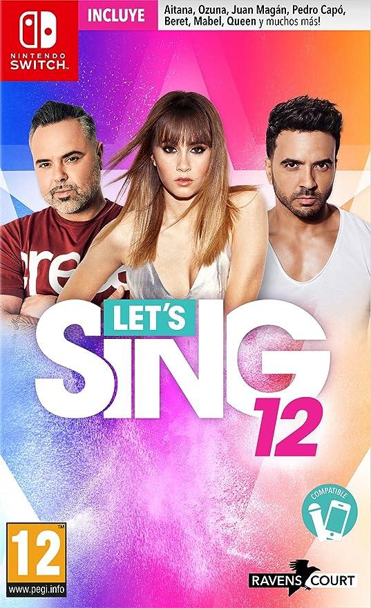 Lets Sing 12 Version Española - PS4 ESP: Amazon.es: Videojuegos