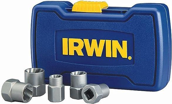 Irwin Bolt Extractor Set 5 Piece 394001 Bolt Extractor Kit Amazon Com