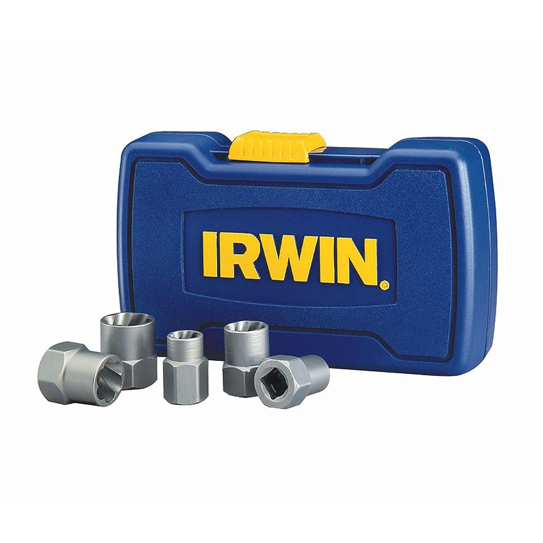 IRWIN HANSON BOLT-GRIP Bolt Extractor Base Set, 5 Piece, 394001