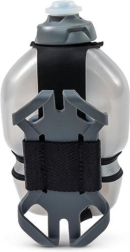 Fuel Belt Tech Fuel Hand Held Bottle with Smart Phone Holder, 10 oz