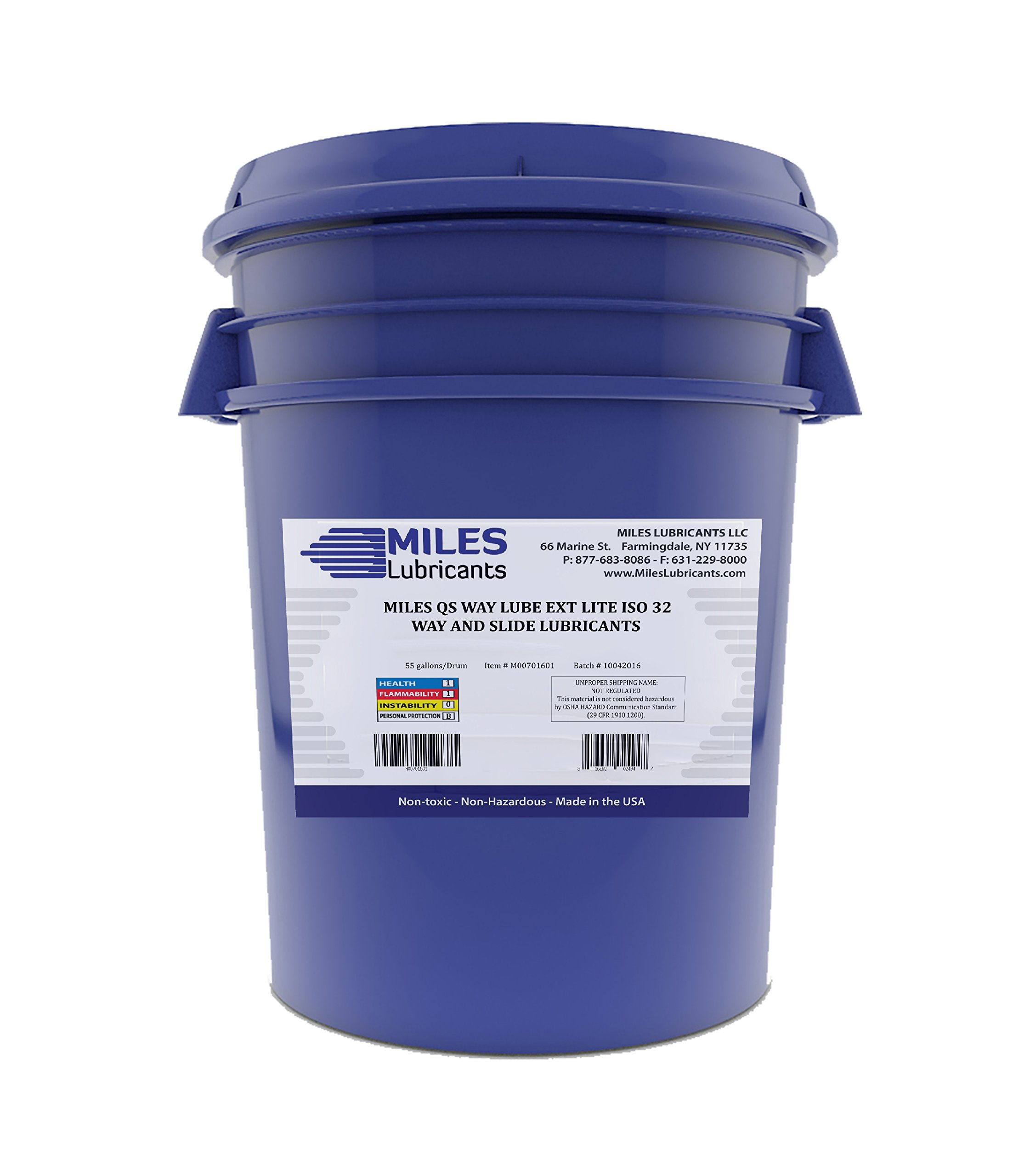 Miles Qs Way Lube Ext Lite ISO 32 Way And Slide Lubricant 5 Gallon Pail