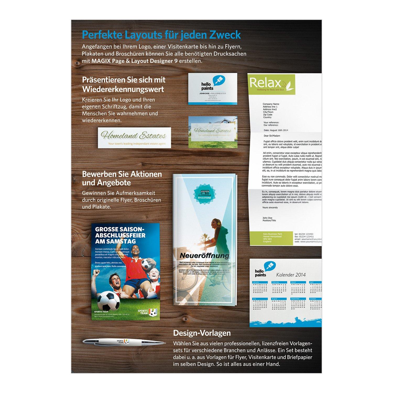MAGIX Page & Layout Designer 9: Amazon.de: Software
