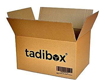 Pack 20 Cajas de Cartón Alta Resistencia - 440x300x250mm - VARIOS TAMAÑOS - Canal Simple Alta