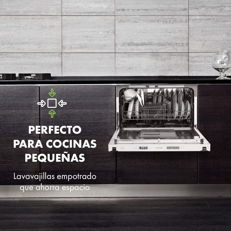 Klarstein Amazonia 6 Secret lavavajillas para montar - Máquina ...