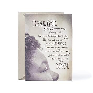 Amazon hallmark mahogany religious birthday greeting card for hallmark mahogany religious birthday greeting card for mother angel i call mom m4hsunfo