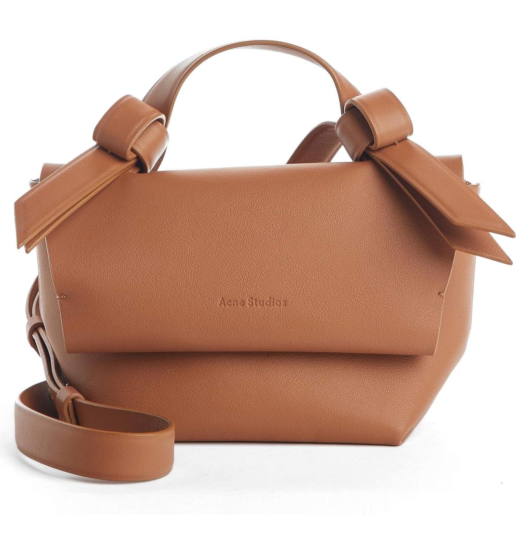 (アクネ ストゥディオズ) ACNE STUDIOS Women`s Musubi Milli Crossbody Bag 2Color レディース ショルダーバッグクロスバック (並行輸入品) B07PSBB1FK ブラウン One Size