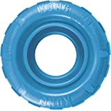 KONG - Puppy Tires - Soft Rubber Chew Toy and Treat Dispenser - For Small Puppies (Assorted colours)