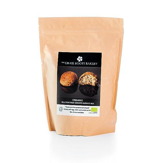 Preparado de Pan Integral Orgánico, Sin Gluten, Libre de Lácteos, Sin Harina de