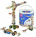 HEROS 100039038 - Constructor per Costruire 9 Modelli di Veicoli, 170 Pezzi