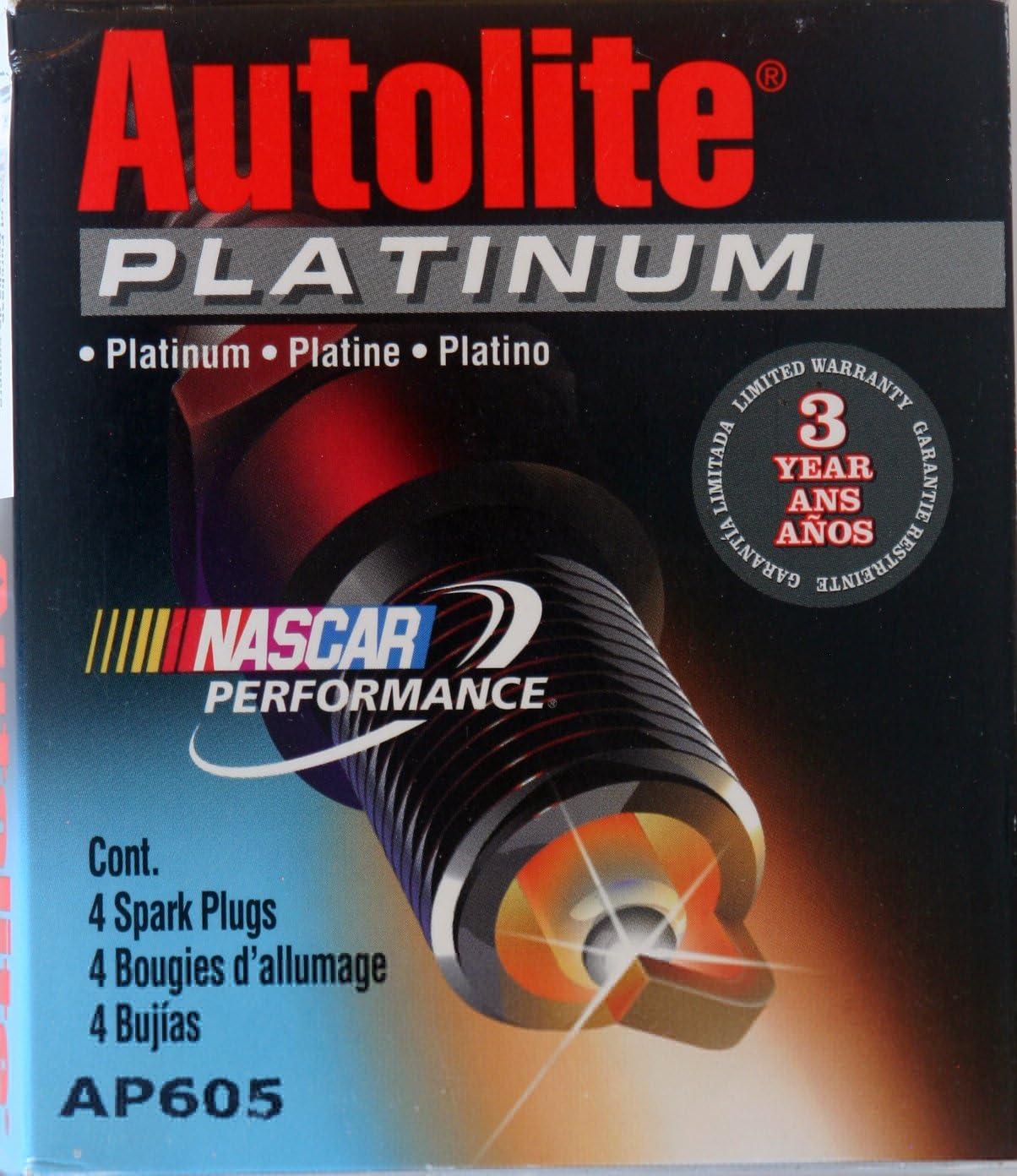 4 Bujías Autolite Platinum # AP605: Amazon.es: Coche y moto