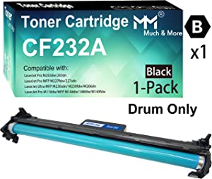 (1-Pack, Only Drum) Compatible HP CF-232A 32A Drum Unit CF232A Imaging Unit Used for HP Laserjet Pro M203dn M203dw M227d M227fdn M227fdw M227sdn Printers, by MuchMore