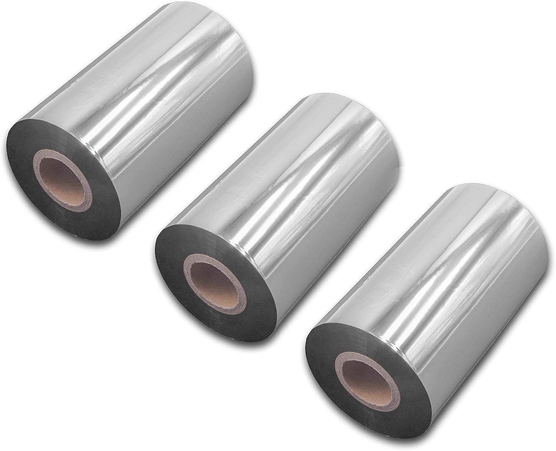 vhbw wischfest Thermotransfer-Band schwarz 30mm 300m passend f/ür Drucker Etikettendrucker Godex EZPI 1300 G500 RT730 RT700 G530