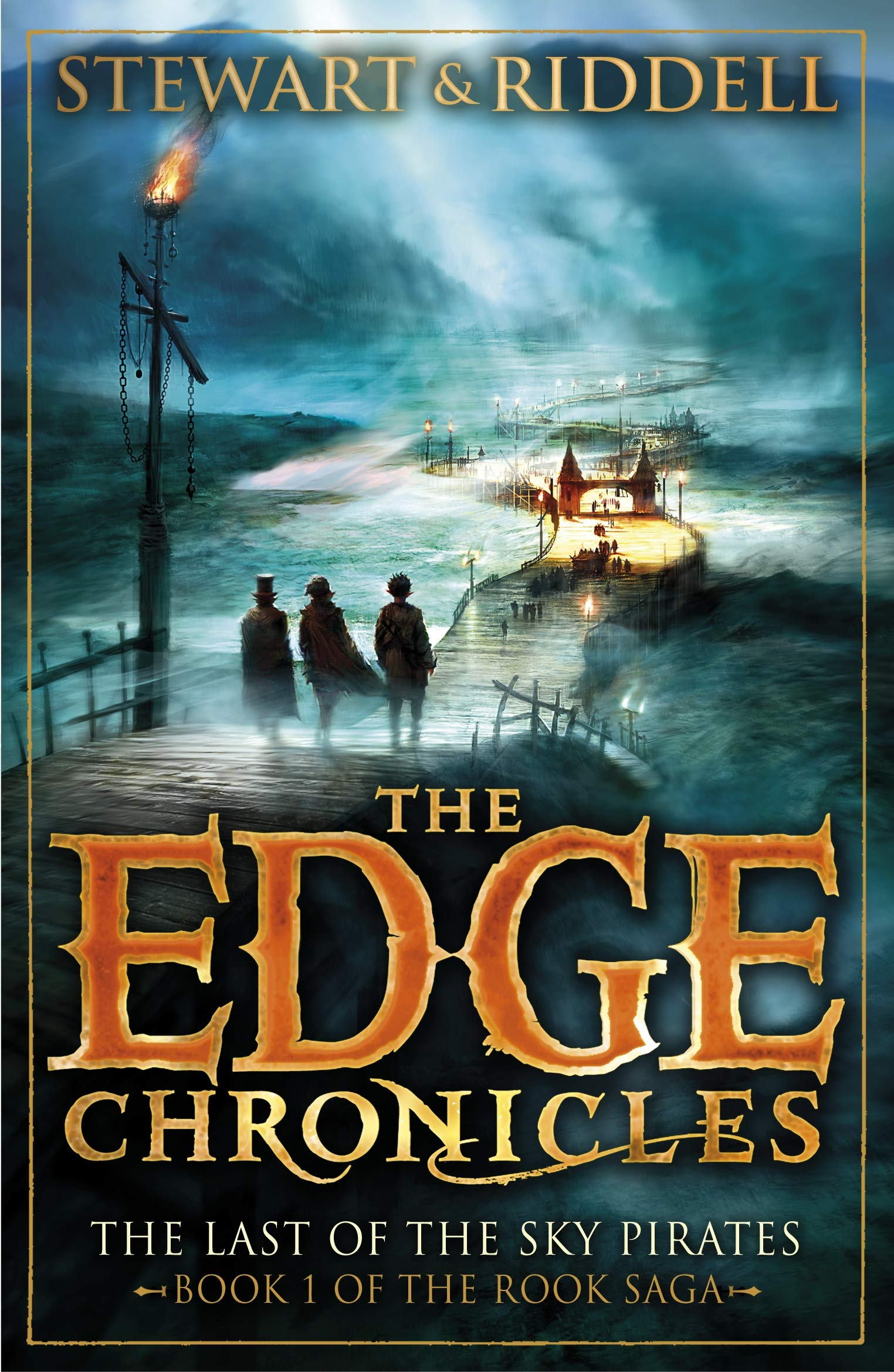 The Last of the Sky Pirates (The Edge Chronicles, Book 5; The Rook Trilogy, Book 1)