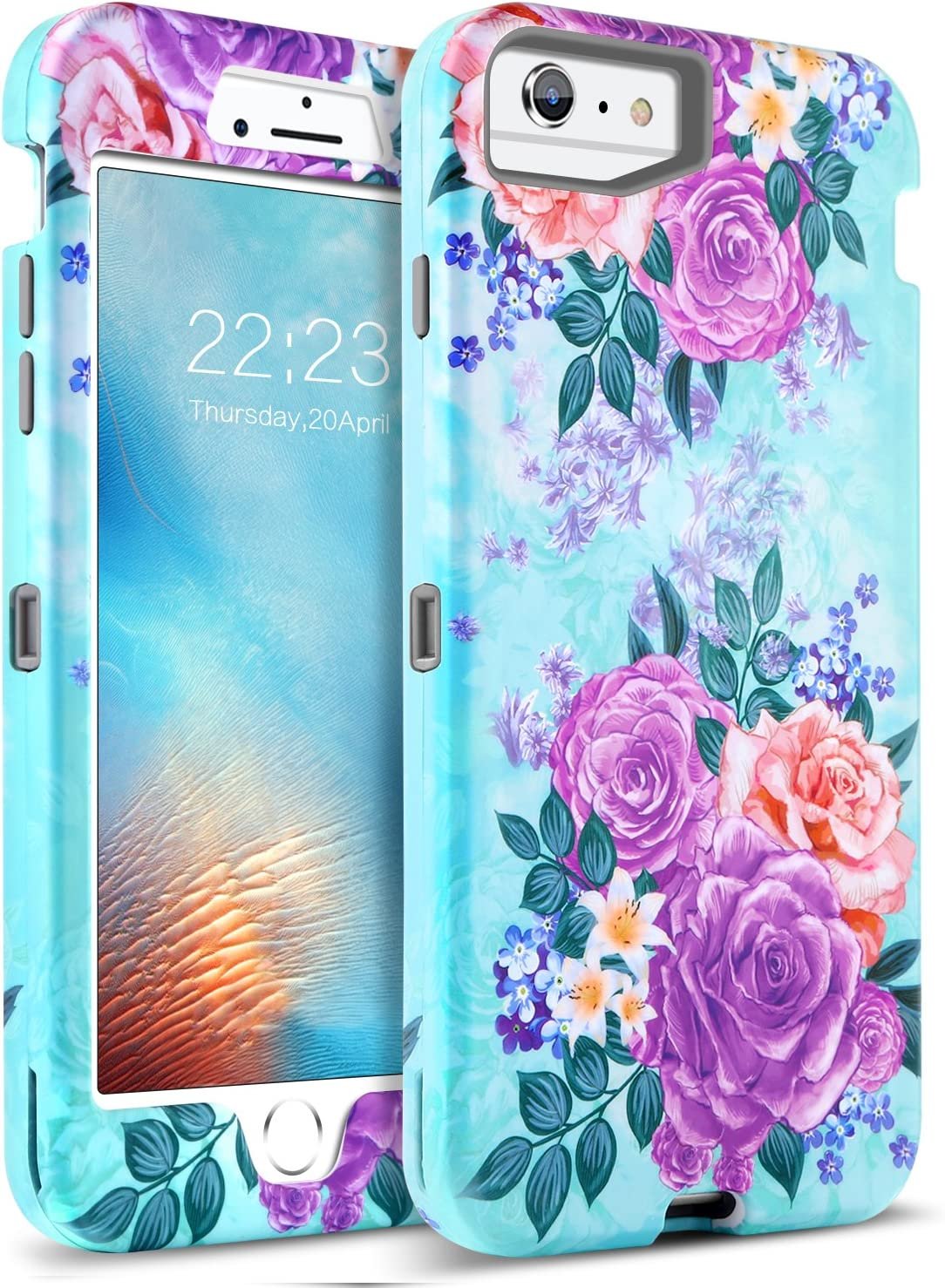 Amazon Com Guagua Iphone 6s Plus Case Iphone 6 Plus Case Peonies