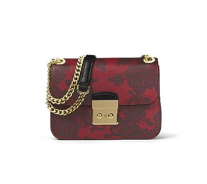 1fb2dbf488cb Amazon.com: Michael Kors Sloan Lace Medium Chain Shoulder Bag in ...