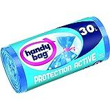 Handy Bag - 3557880352011 - Sacs Poubelle à Fermeture à Liens Protection Active - 30 L - 50 x 70 cm - x 20 - Lot de 2
