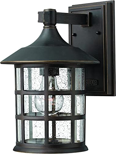 Hinkley 1804OZ Traditional One Light Wall Mount from Freeport collection in Bronze Darkfinish,