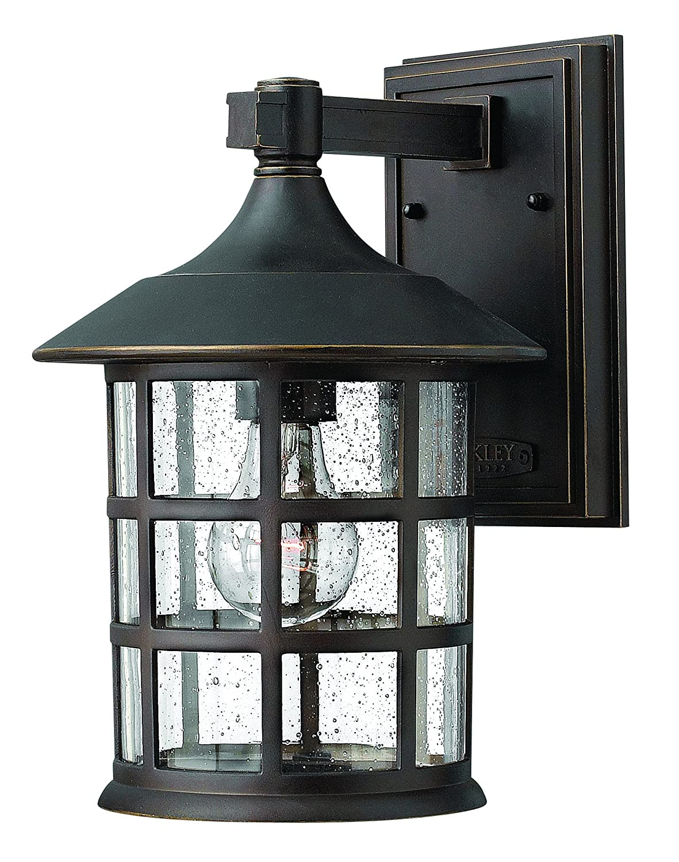 Hinkley Lighting 1804oz Freeport 1 Light Outdoor Light Oil Rubbed Bronze Amazon Com