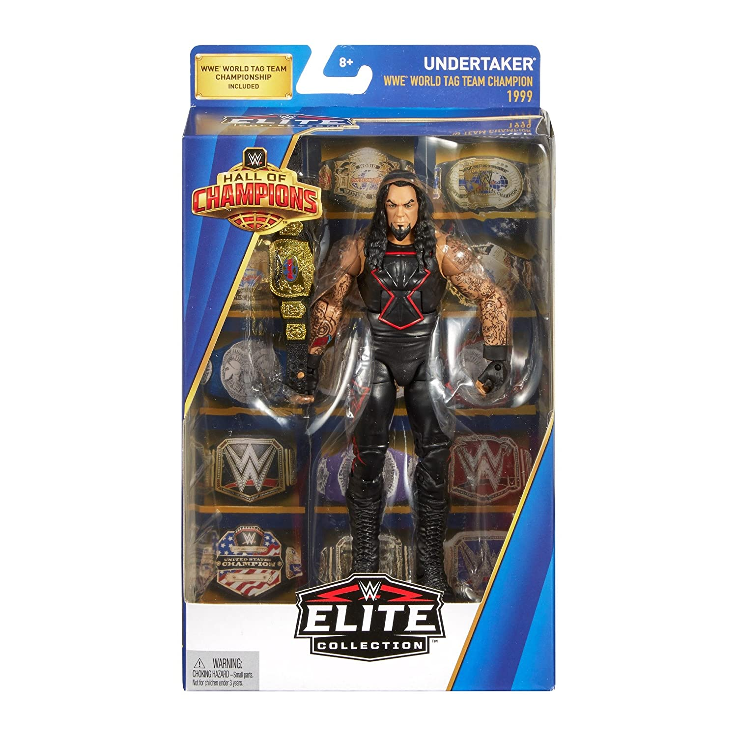 Wrestling FNW30 WWE Elite Collection Hall of Champions Exclusive Undertaker 6 inch Action Figure